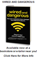 Wired and Dangerous - available now at a bookstore or e-tailor near you!